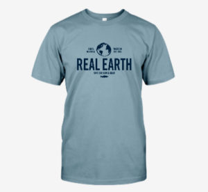 Real Earth Custom Logo Tee